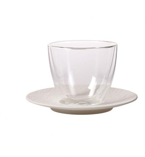 Villeroy & Boch Manufacture Rock kaffe latte kopp med skål
