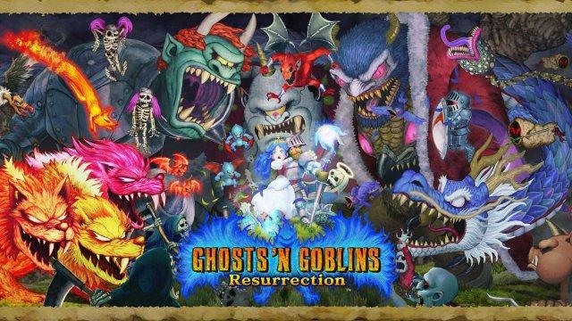 Ghosts 'n Goblins Resurrection til Switch