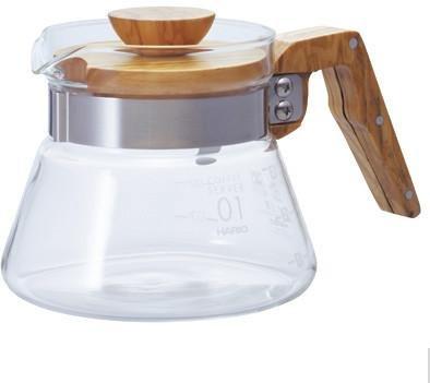 Hario Coffee Server 400 Olive Wood