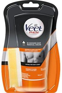 Man in Shower Hair Removal Cream 150ml