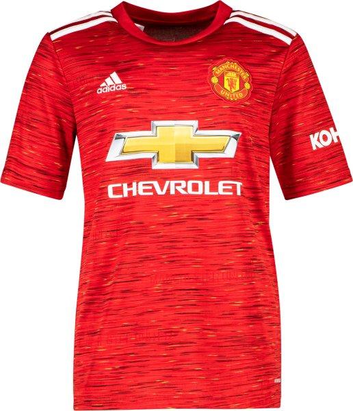 Adidas Manchester Uniteds hjemmetrøye 2020/21 (Junior)