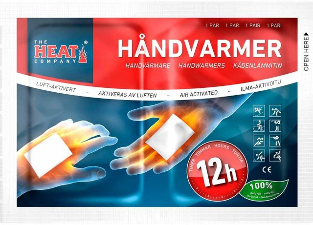 The Heat Company Håndvarmer