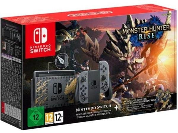 Nintendo Switch Monster Hunter Rise Edition