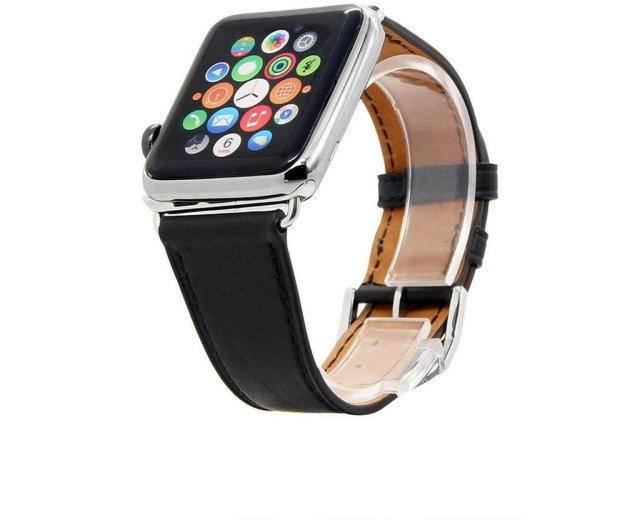 Ferrelli Apple Watch Lærreim 42mm