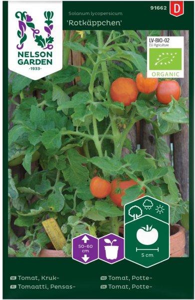 Nelson Garden Tomat Rotkäppchen Økologisk (91662)