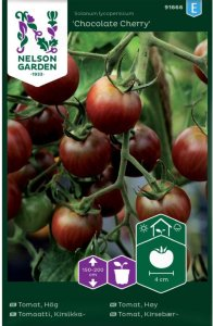 Nelson Garden Tomat Chocolate Cherry (91666)