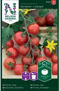 Nelson Garden Tomat Gardener´s Delight (91676)