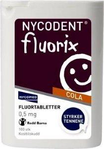 Fluorix 0,5mg Cola 100 stk