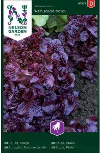 Nelson Garden Salat Red Salad Bowl (91313)