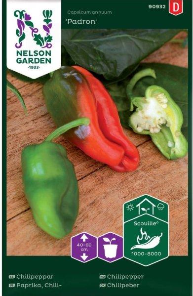 Nelson Garden Chilipepper Padron (90932)