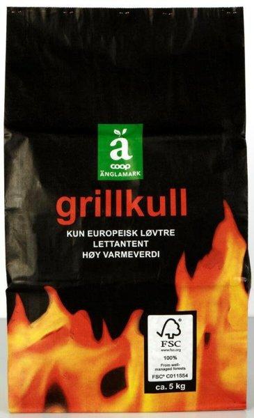 Änglamark Grillkull 5kg