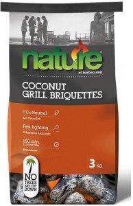 Nature Basic Kokos Grillbriketter 3 kg