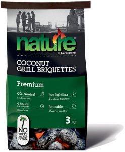 Premium Kokos Grillbriketter 3 kg