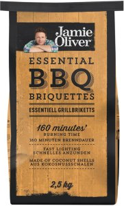 Jamie Oliver Essential Grillbriketter 2,5 kg