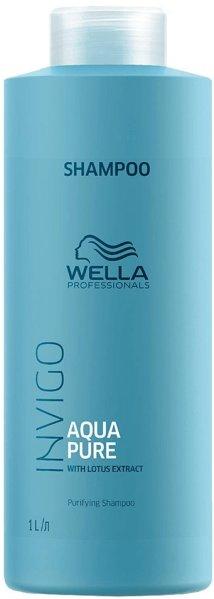 Wella Professionals Invigo Aqua Pure Purifying Shampoo 1000ml
