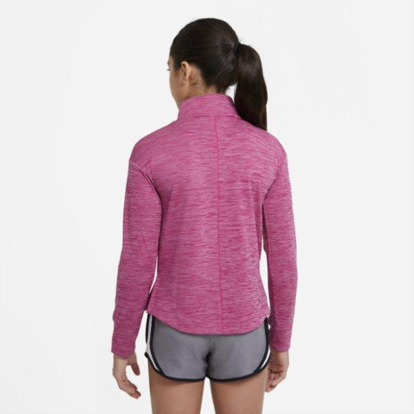 Nike løpeoverdel med glidelås (Jente)