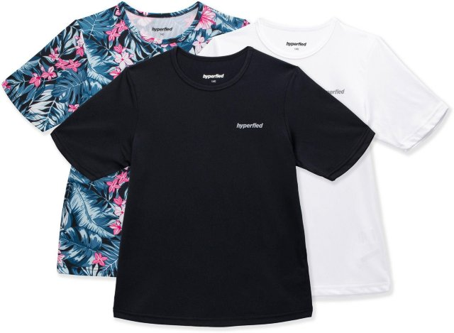 Hyperfied Wave T-Shirt 3-pack