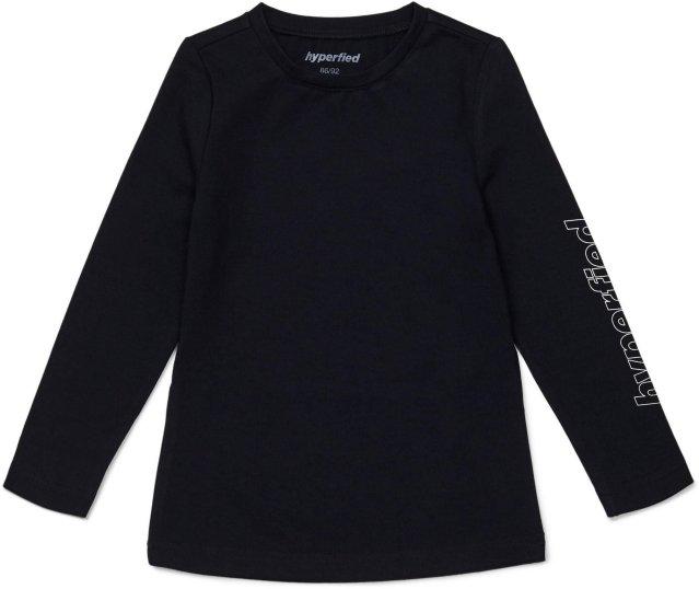 Hyperfied Jersey Logo Long Sleeve Top