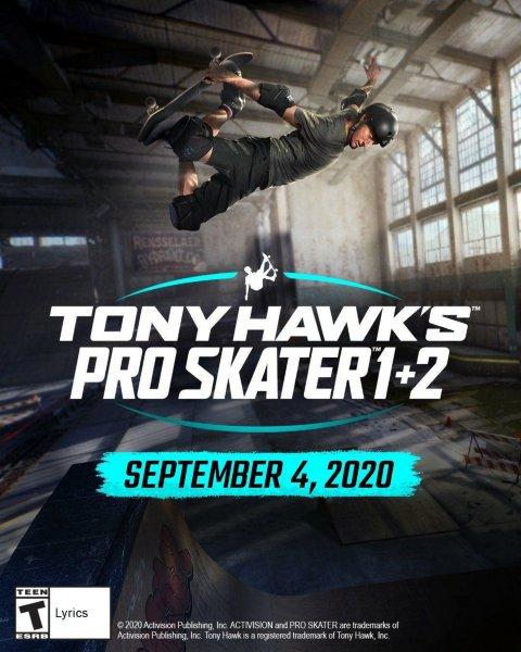 Tony Hawk's Pro Skater 1 and 2 til PlayStation 5
