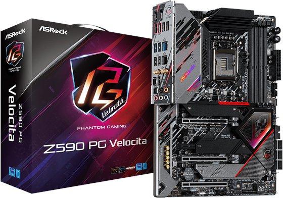 ASRock Z590 PG Velocita