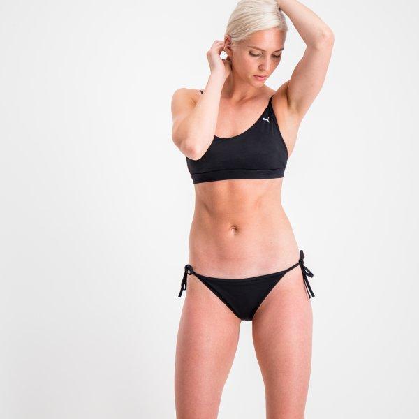 Puma Swim Side Tie Bikini Bottom