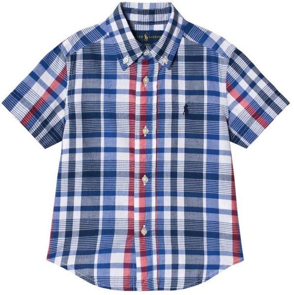 Ralph Lauren Check Madras Skjorte