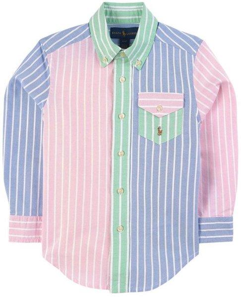 Ralph Lauren Color Block Striped Shirt