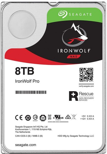 Seagate IronWolf ST8000VN004