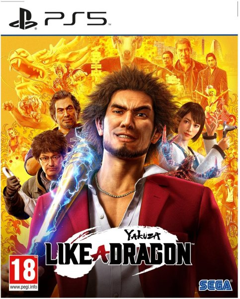 Yakuza: Like A Dragon til PlayStation 5