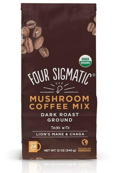Four Sigmatic Lions Mane Ground Coffee (340g)