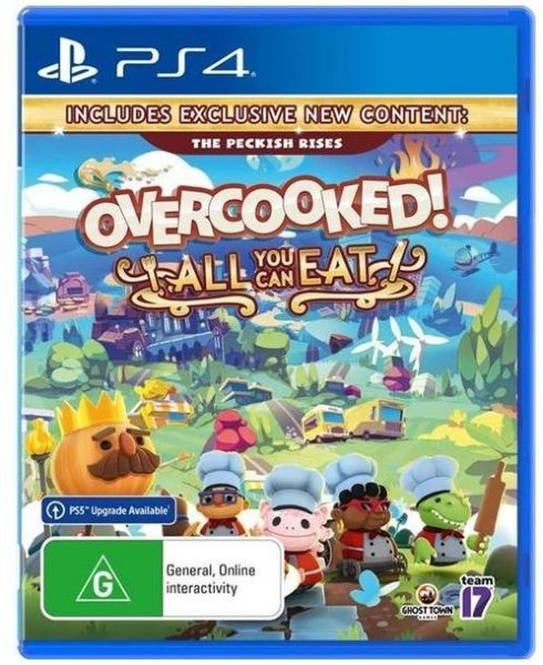 Overcooked: All You Can Eat til Playstation 4