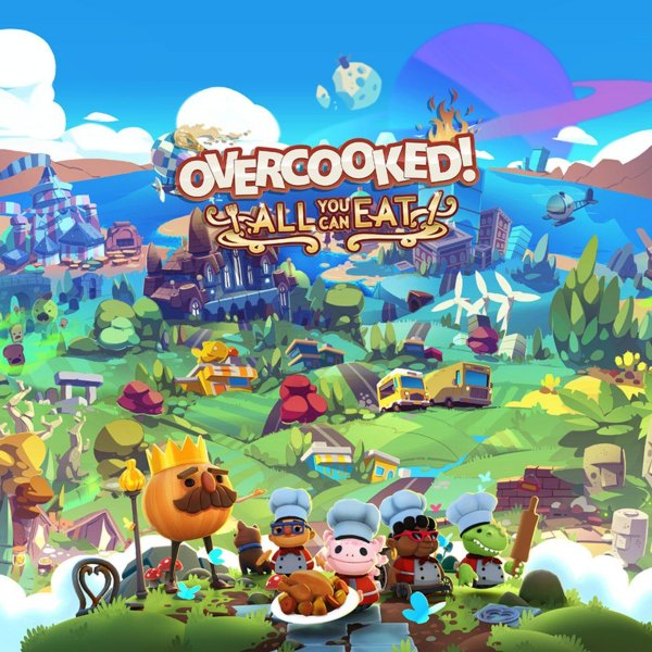 Overcooked: All You Can Eat til PC