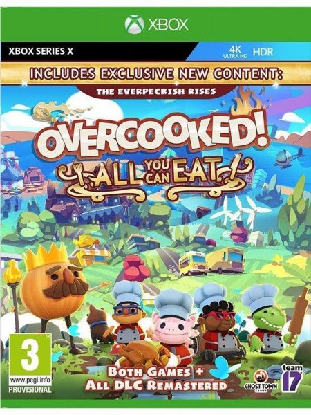 Ghost Town Games Overcooked: All You Can Eat