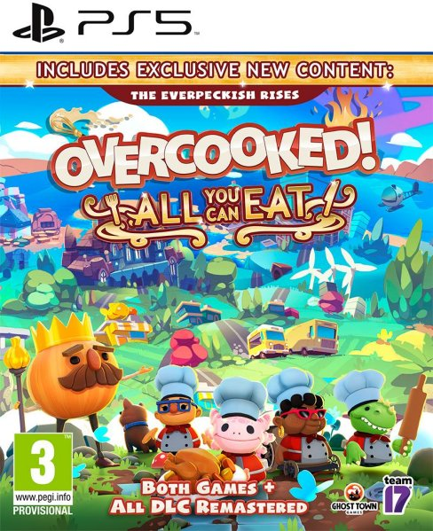 Overcooked: All You Can Eat til PlayStation 5