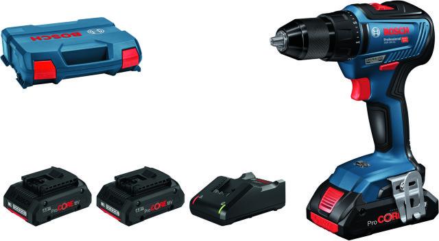 Bosch GSR 18V-55 ProCORE L-BOXX (2x4,0Ah)