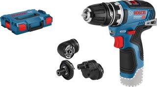 Bosch GSR 12V-35 FC FlexiClick L-BOXX (uten batteri)