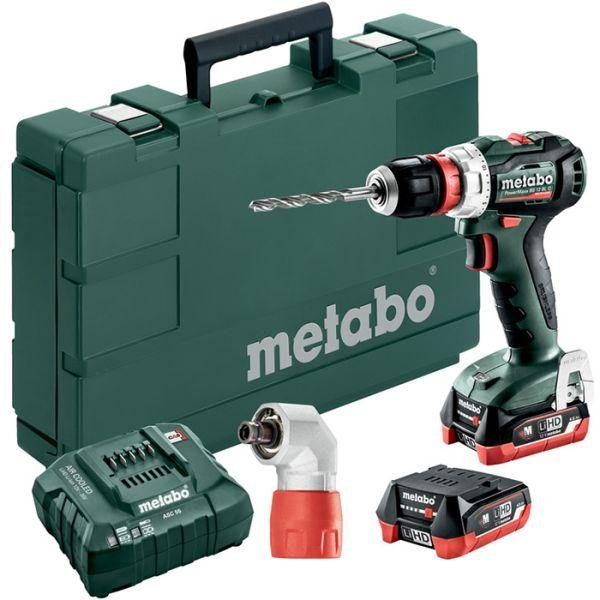 Metabo PowerMaxx BS 12 BL Q MetaBox (2x4,0Ah)