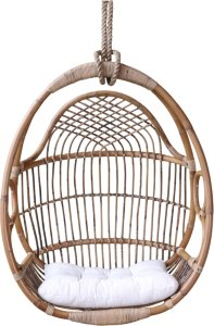 Chic Antique Fransk hengestol med pute