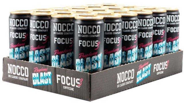 NOCCO 24 x Nocco Focus 330ml