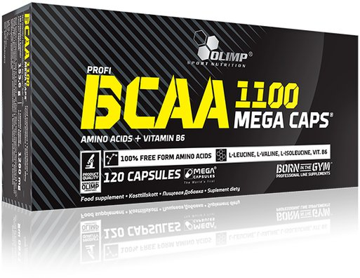 Olimp Sports Nutrition BCAA Mega Caps 120stk
