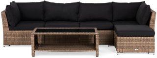 Hillerstorp Wisconsin Loungegruppe 5-seter med divan