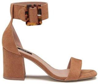 Amanda Ankle Strap Heeled Sandal