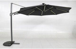 Sunfun Ligurien led hengeparasoll 350cm
