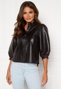 Milla Leather Shirt