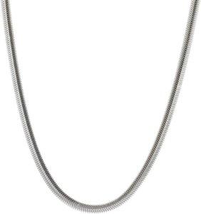 Snake Oval Necklace