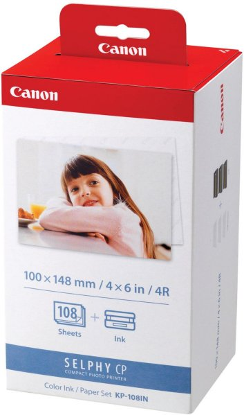 Canon KP-108IN Skriverpatron/papirsett
