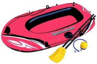 Bestway gummibåt med årer og pumpe