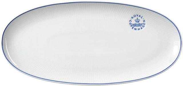Royal Copenhagen Blueline ovalt fat 37cm