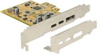 PCI Express til USB-C 3.1 + Displayport (89852)