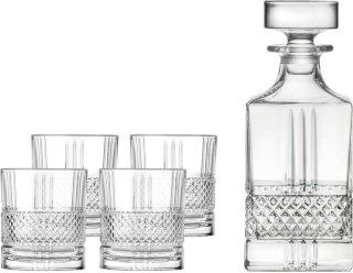 Brilliante whiskysett 5 deler